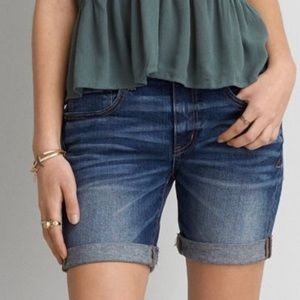 AEO American Eagle Outfitters Denim Jean Shorts 4
